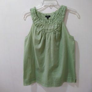 Talbots light green top
